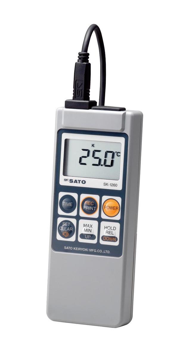 佐藤計量器製作所 防水型デジタル温度計 SK-1260(本体のみ)