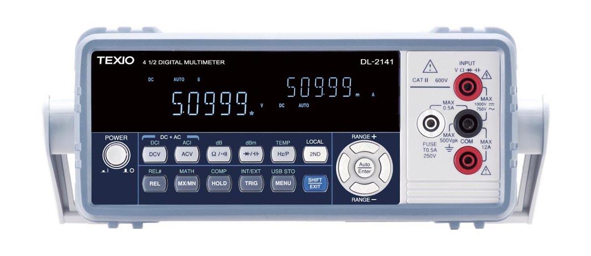テクシオ・テクノロジー デジタルマルチメーター DL-2142