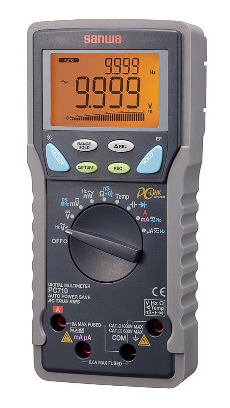 三和電気計器 デジタルマルチメーター PC710