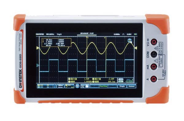 テクシオ・テクノロジー ハンディオシロスコープ GDS-207
