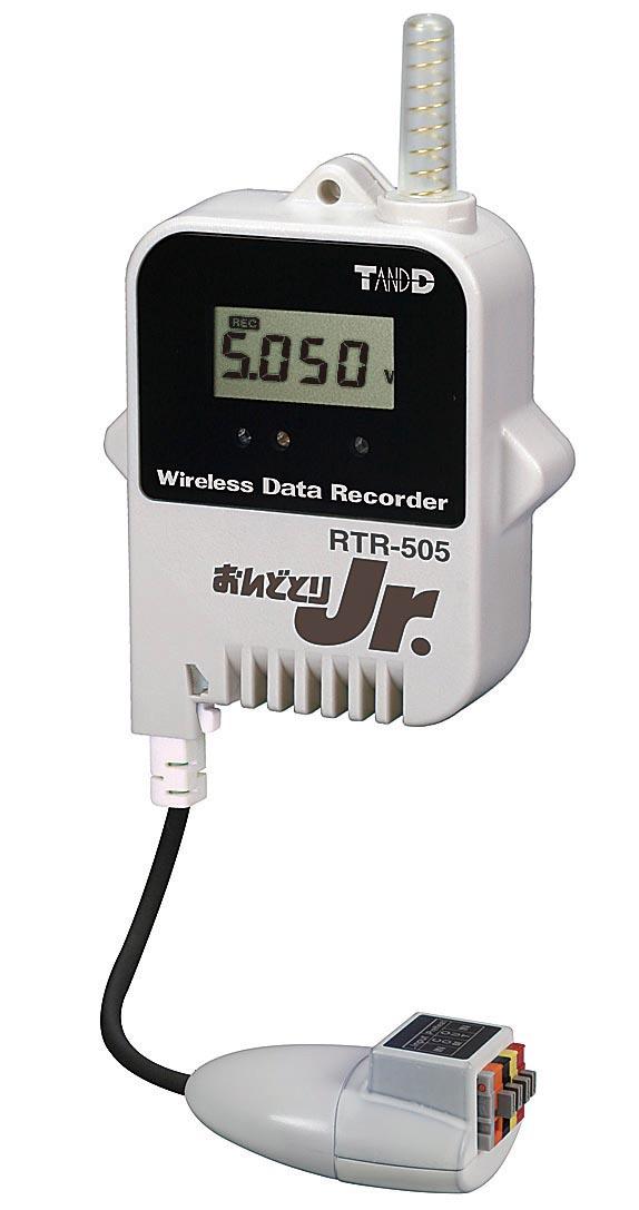 ティアンドデイ 電圧ロガー(おんどとり Jr.Wireless) RTR-505-VL