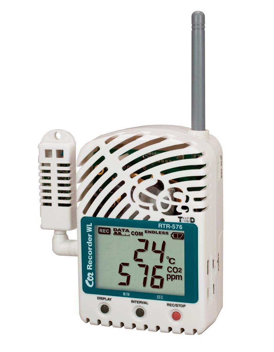 ティアンドデイ おんどとり Jr.Wireless RTR-576