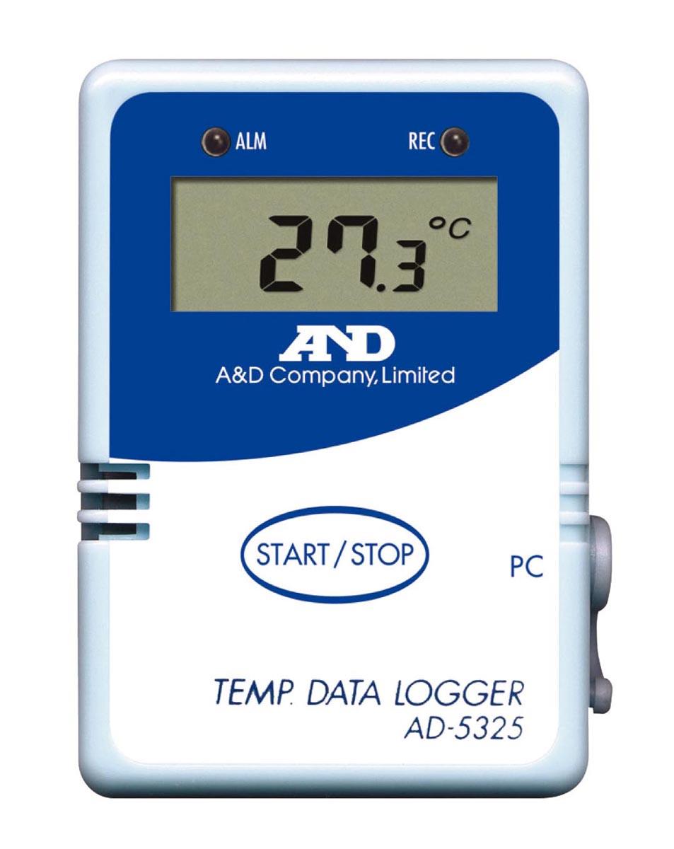 エー・アンド・デイ 温度ロガー AD-5325SET