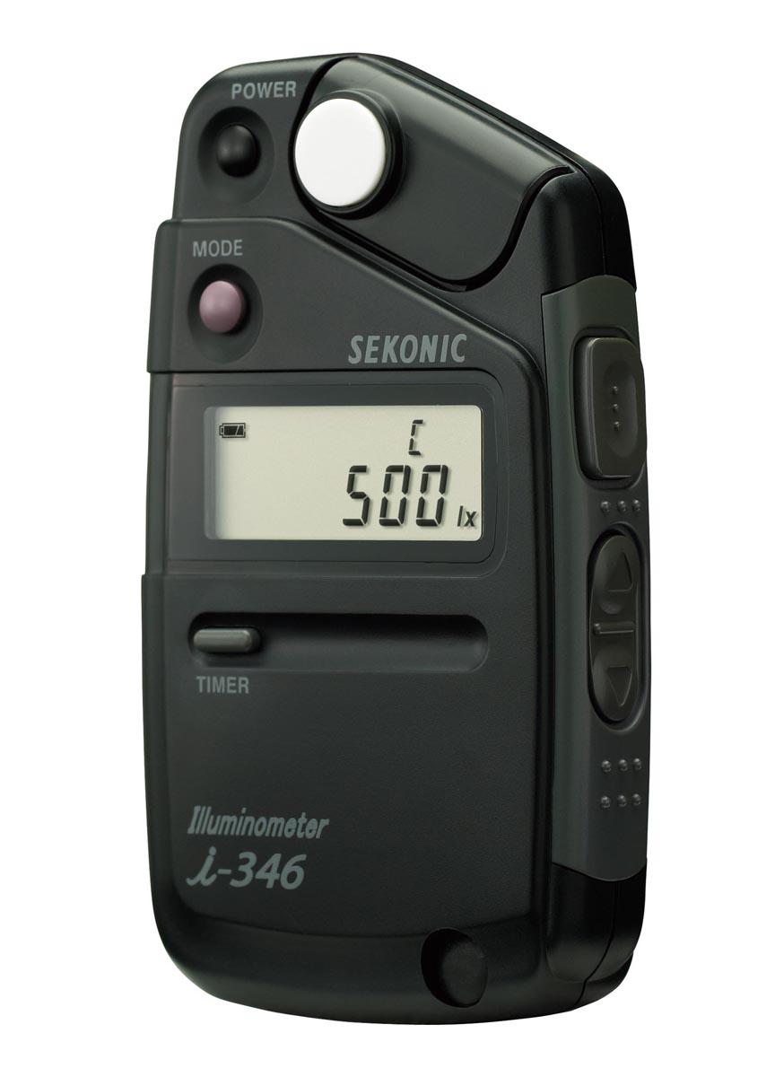セコニック デジタル照度計 i-346