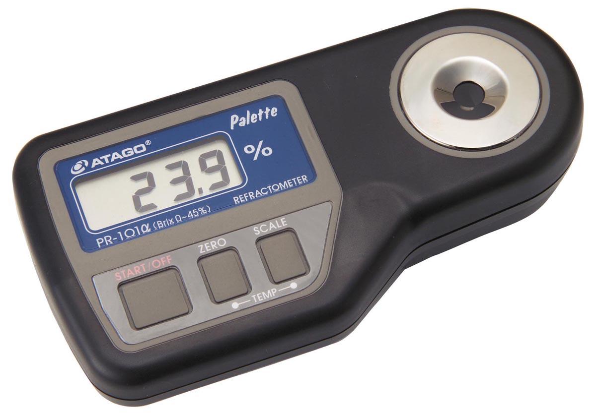 アタゴ デジタル糖度(濃度)計 PR-201α