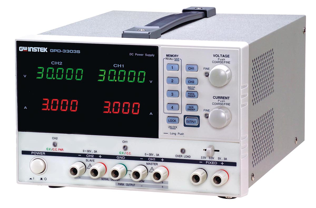 テクシオ・テクノロジー 多出力直流電源装置 GPD-3303S