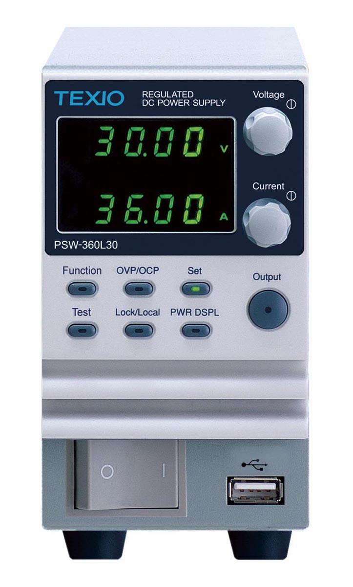 テクシオ・テクノロジー 直流安定化電源装置 PSW-360L30