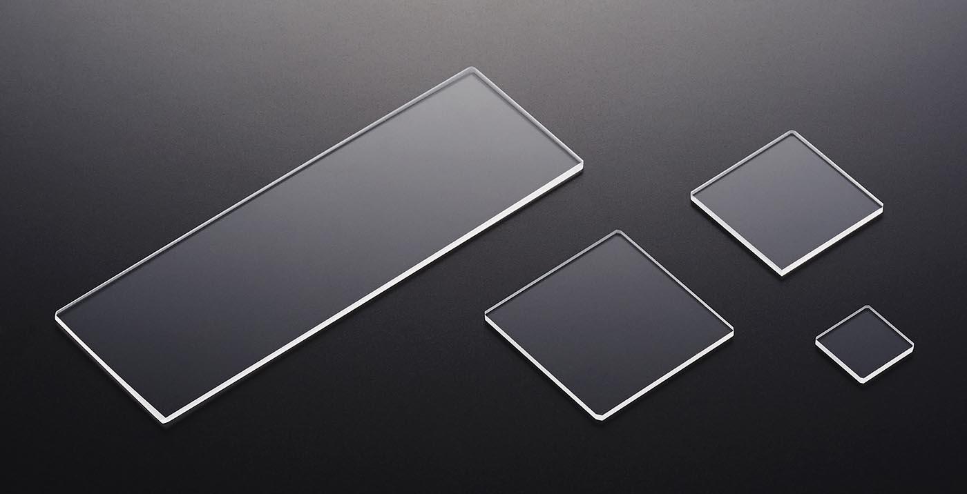 ケニス 石英ガラス板 25×25 10枚入
