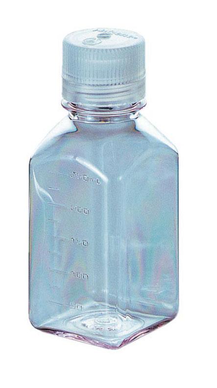サーモフィッシャーサイエンティフィック Nalgene透明角型瓶(中栓なし) 2015-1000
