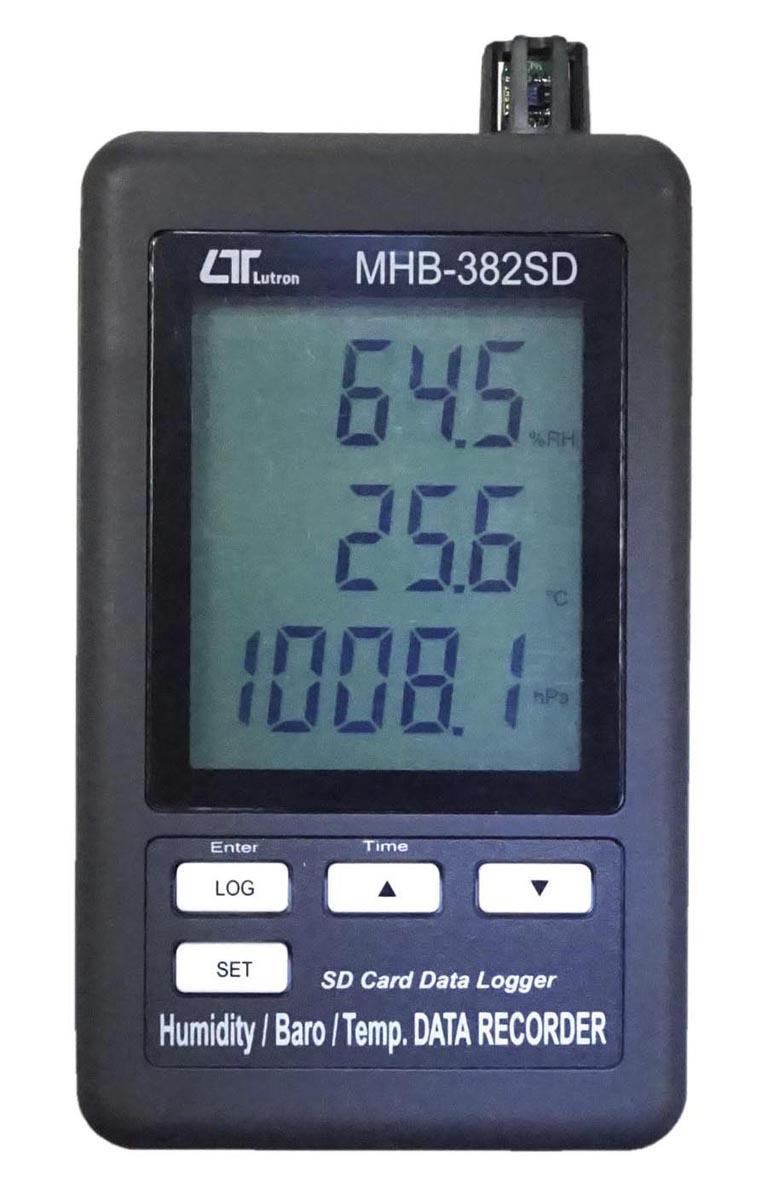 マザーツール デジタル温湿度計 MHB-382SD