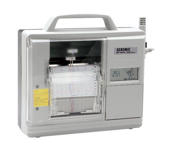 ST-50Aセコニック 電子式温湿度記録計 ST-50A, たばや:d539cfb7 --- per-ros.com