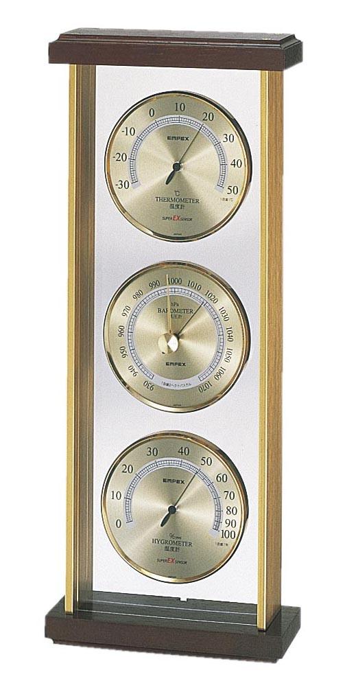 エンペックス気象計 温度・気圧・湿度計 EX-744