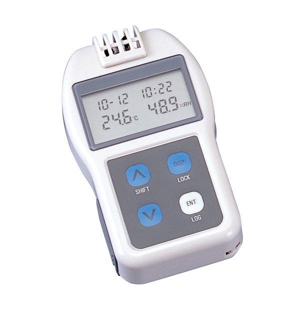チノー ポケットサイズ温湿度データロガー HN-CHNR