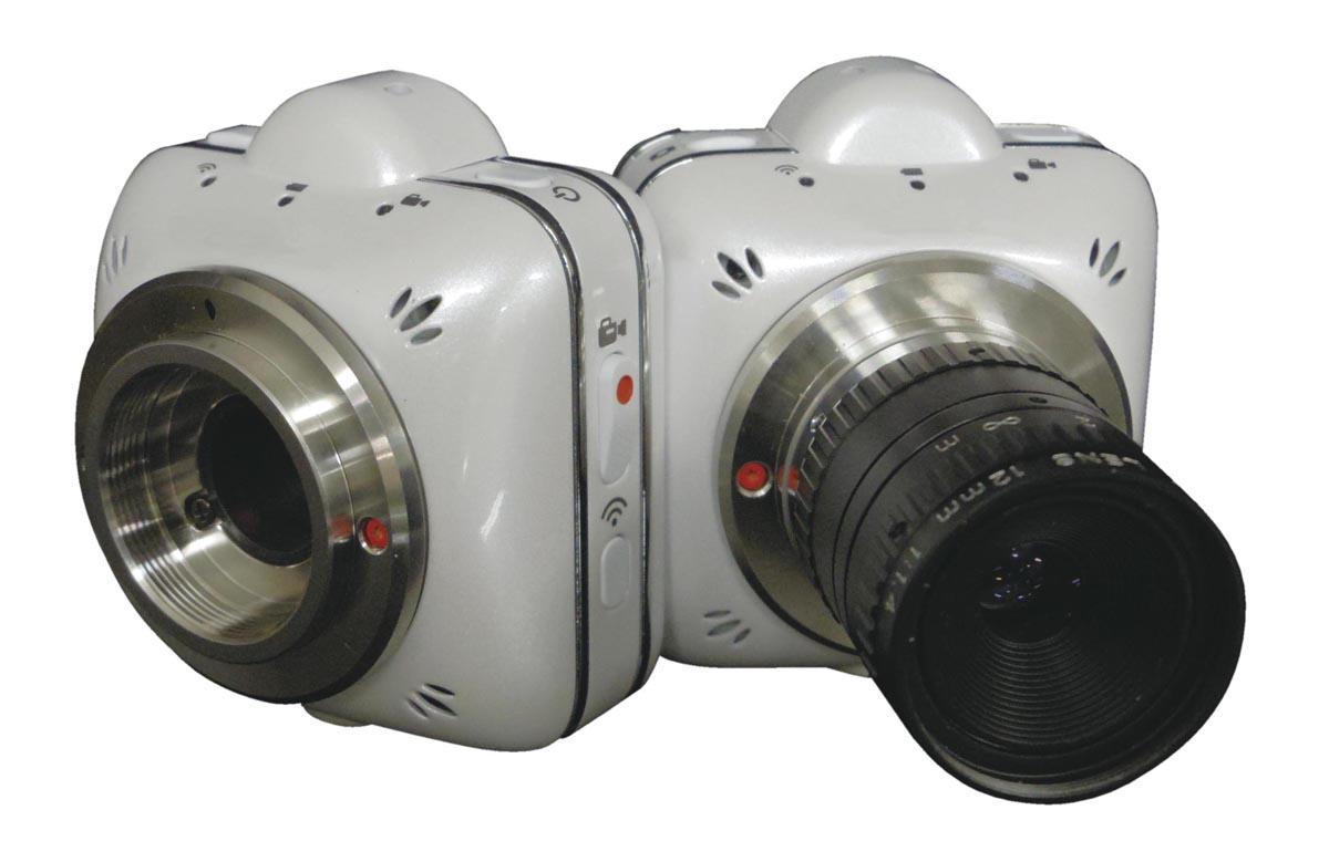 ケニス Wi-Fi対応顕微鏡カメラ SS500-MC