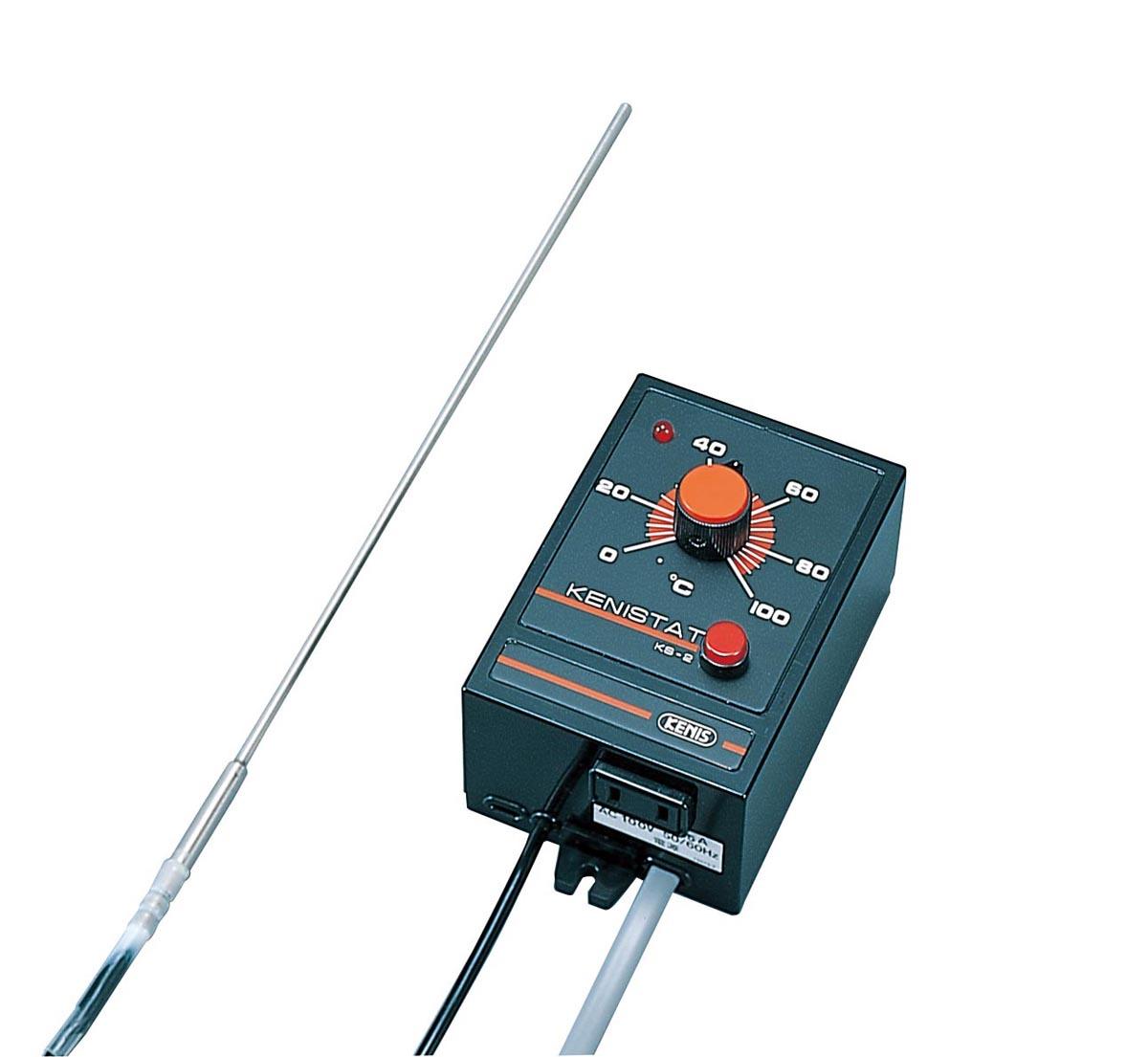 ケニス 電子温度調節器(ケニスタット) KS-2(0-100℃)