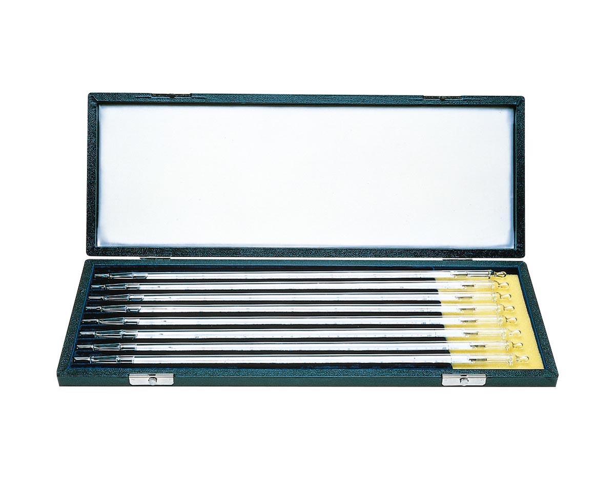 ケニス 標準温度計 棒状 8本セット(箱入)