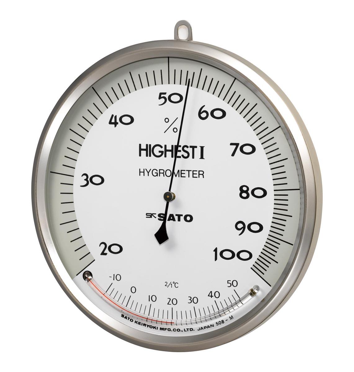 佐藤計量器製作所 精密温湿度計 H-1