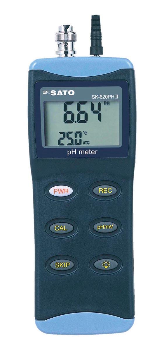 佐藤計量器製作所 ハンディ型pH計 SK-620PHII(本体のみ)