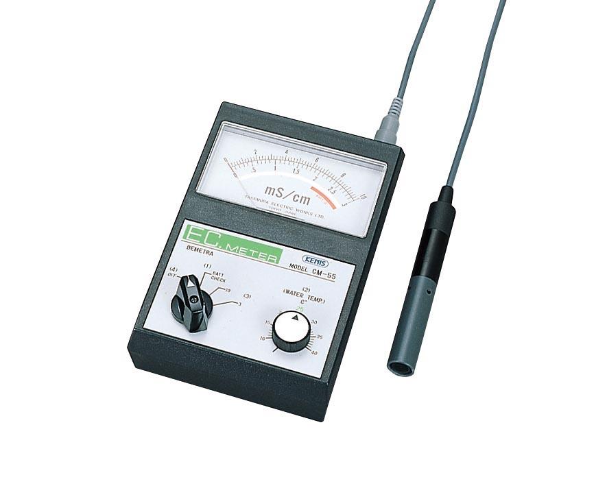 竹村電機製作所 ECメーター(電気伝導度計) CM-55