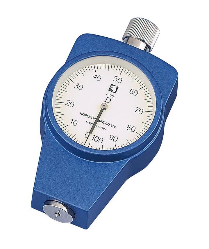 古里精機製作所 ゴム・プラスチック硬度計 KR-15D(標準型)