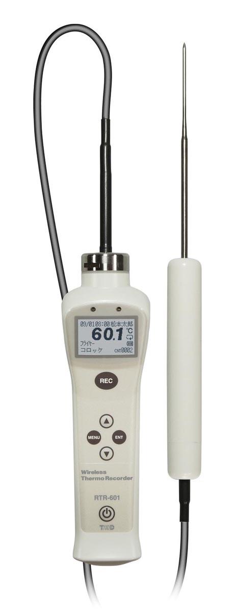 ティアンドデイ 食品用温度データロガー RTR-601-E10