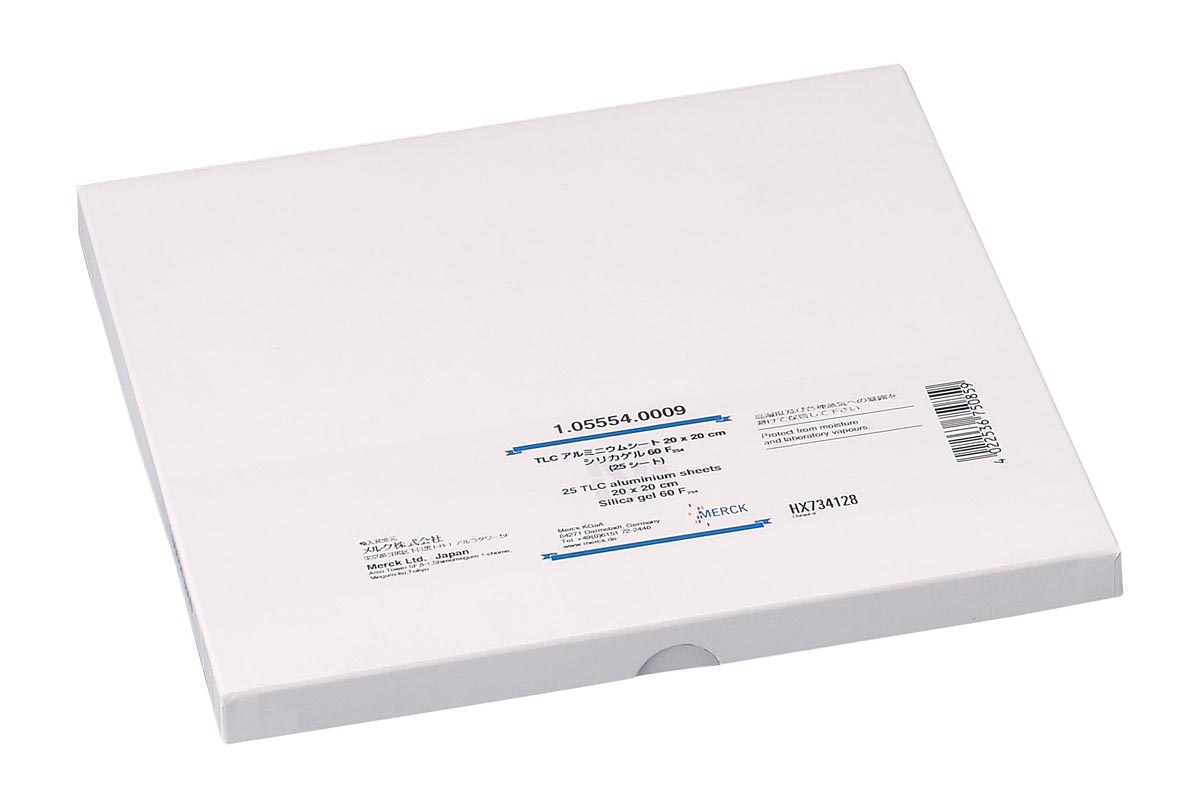 メルク TLCプレート(シリカゲル60) 15341