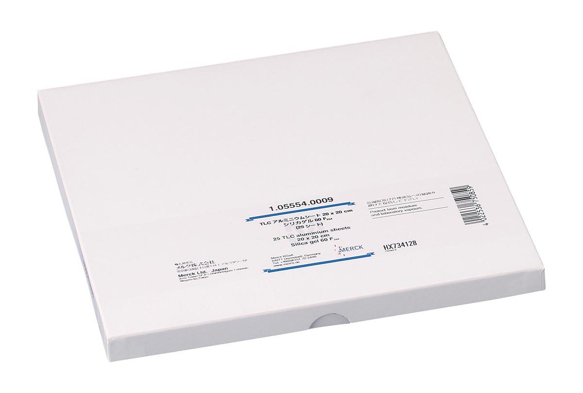 メルク TLCプレート(シリカゲル60) 5808