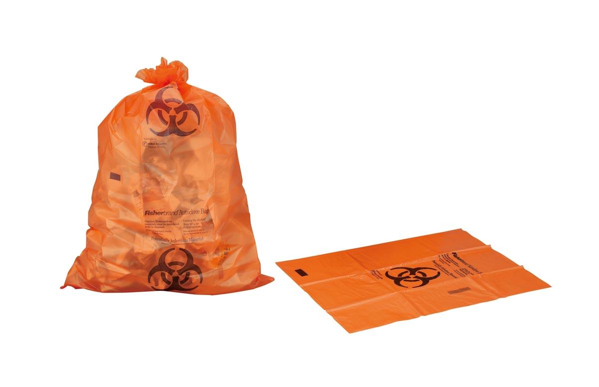 サーモフィッシャーサイエンティフィック 滅菌表示付オートクレーブバッグ 01814A