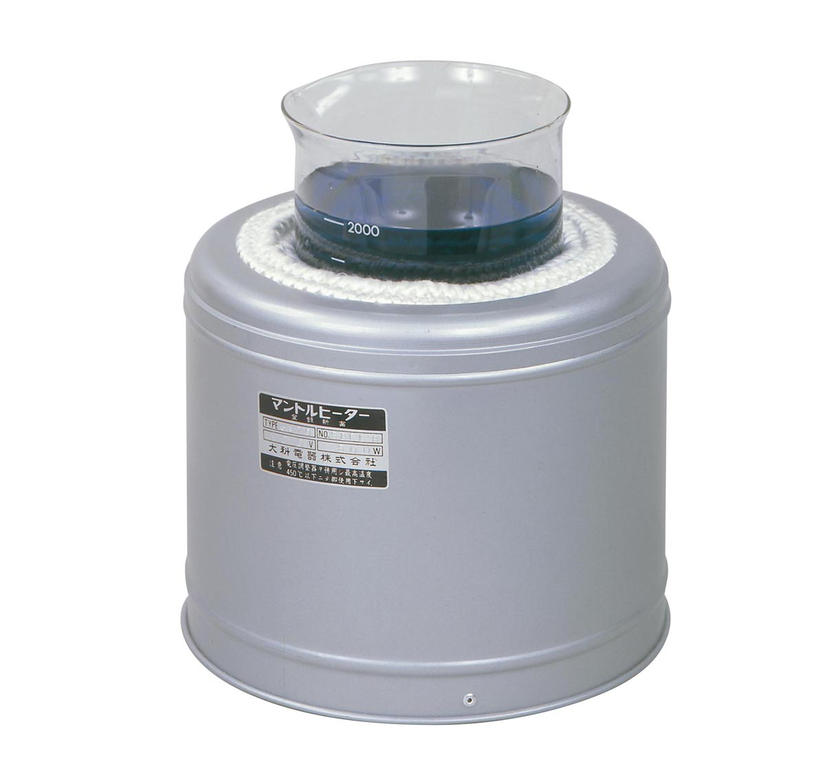 大科電器 ビーカー用マントルヒーター GB-20