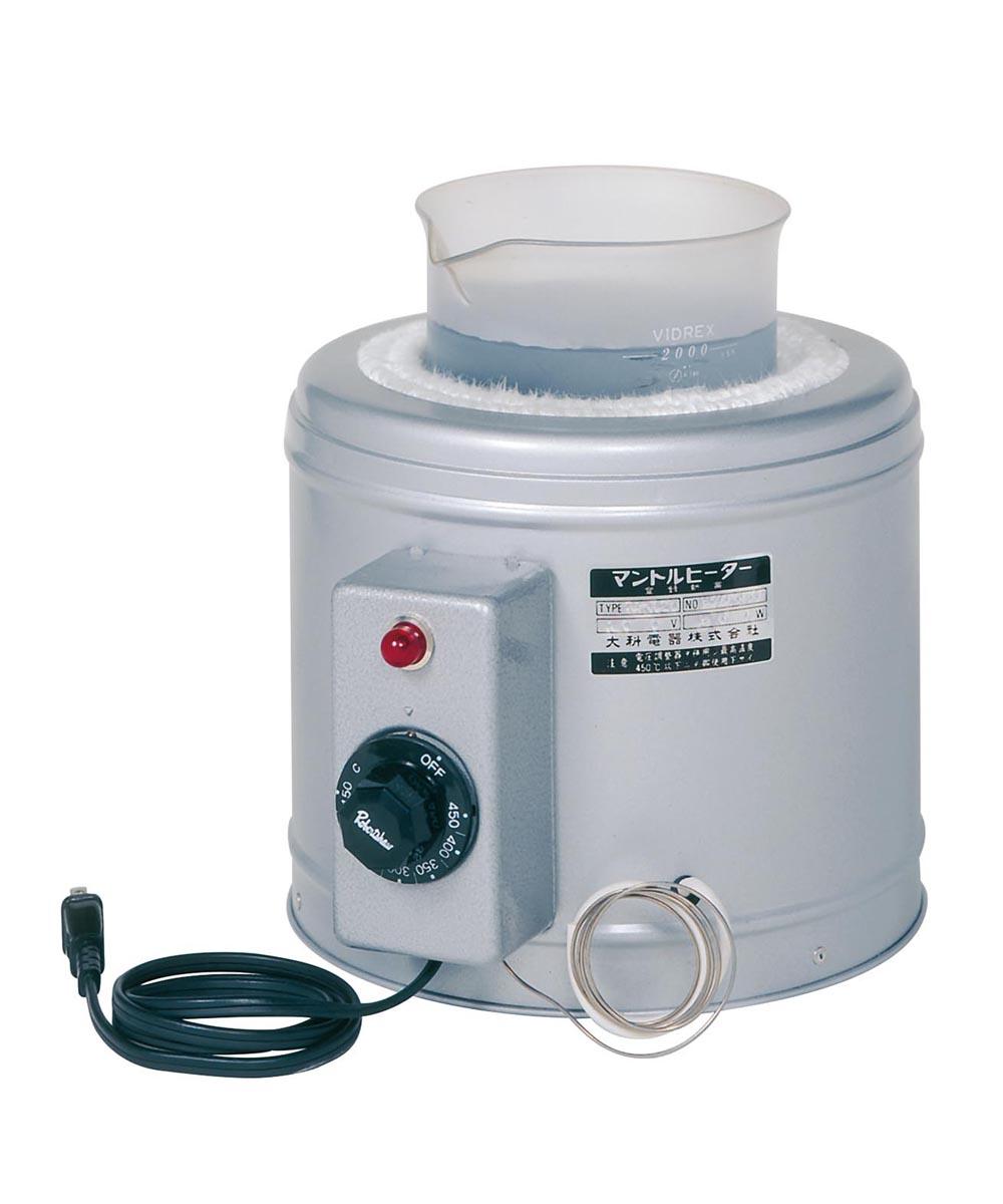 大科電器 ビーカー用マントルヒーター(自動温度調節器内蔵) GBRT-20H