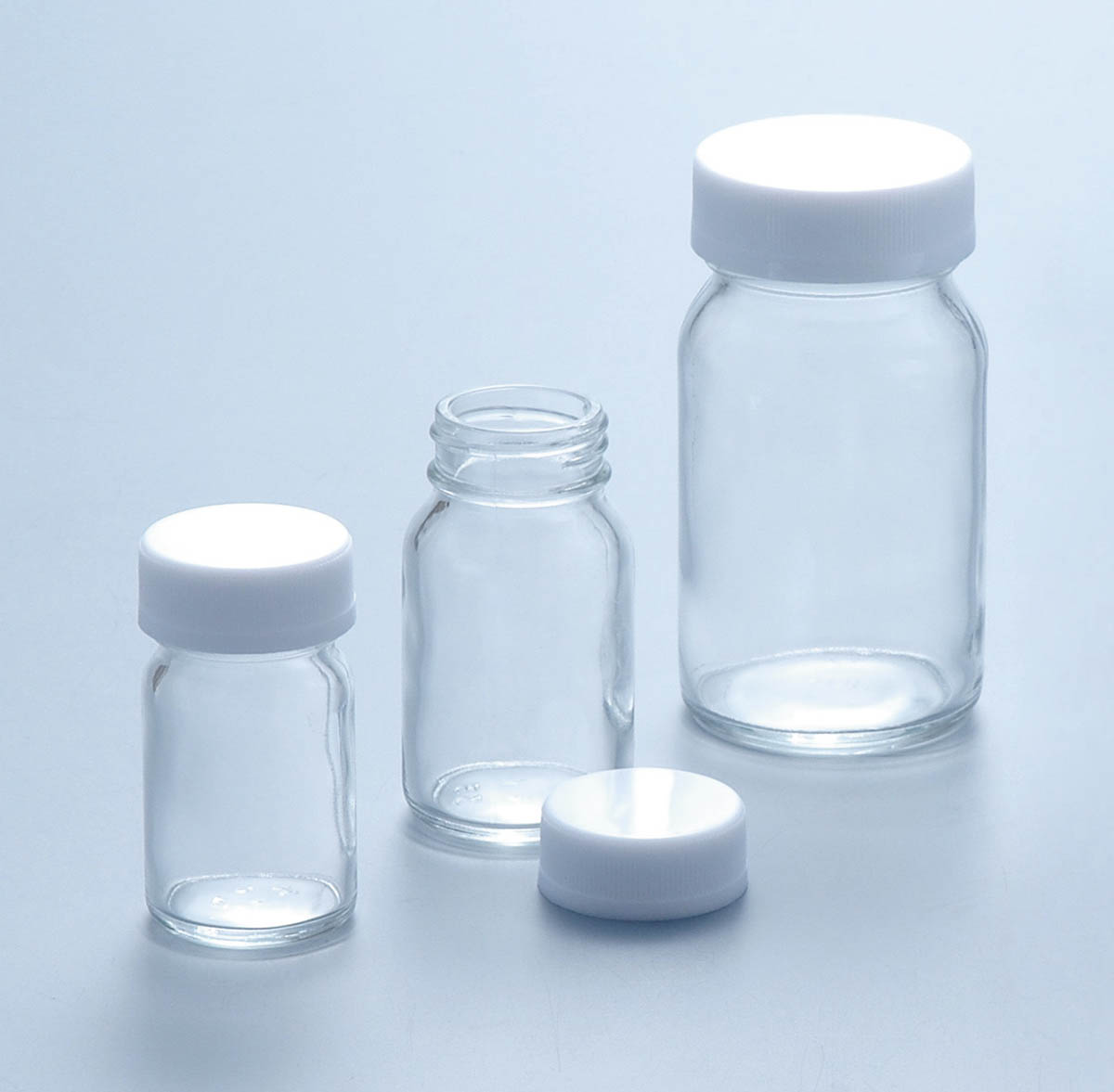 マルエム 軽量規格瓶 No.5 45ml (100本)
