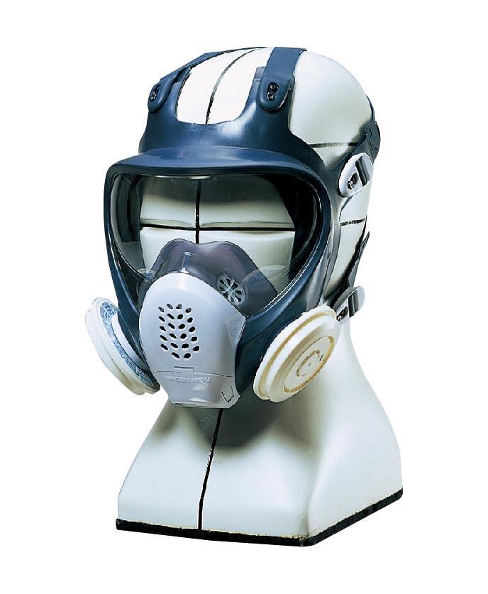 重松製作所 全面形防じんマスク DR185L4N-1
