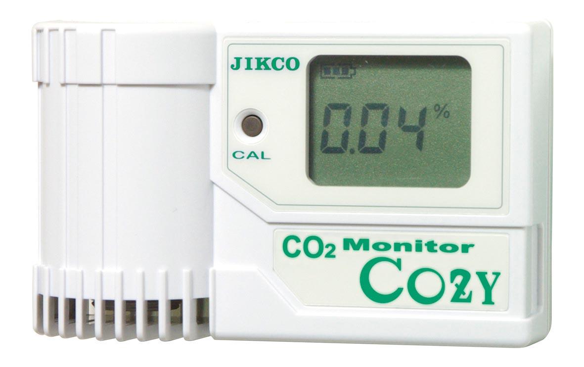 注目のブランド イチネンジコー 二酸化炭素モニタ COZY-1:GAOS 店-DIY・工具