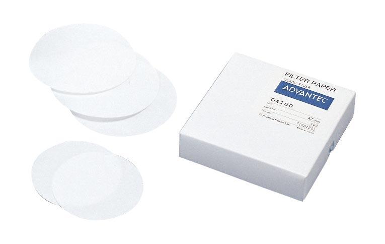 アドバンテック東洋 アドバンテック東洋ガラスろ紙 GB-100R 70mmφ