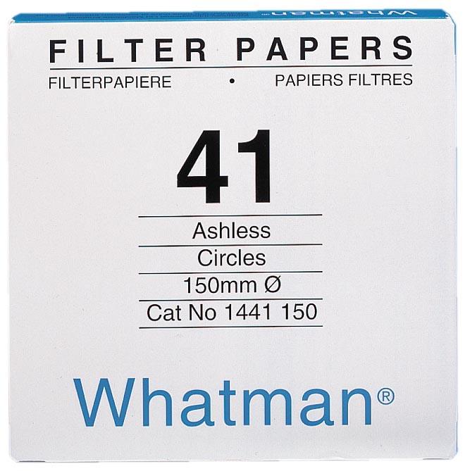 ワットマン ワットマン 定量ろ紙 グレード42 185mmφ