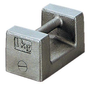 ケニス まくら型分銅(M1級) 1kg