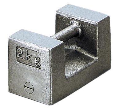 ケニス まくら型分銅(M1級) 2kg