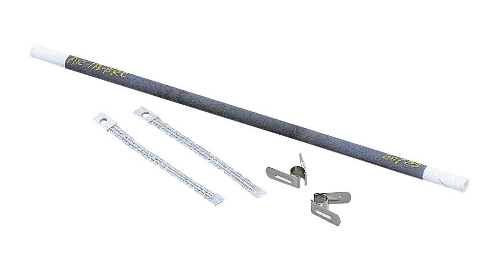 シリコニット シリコニット発熱体(棒型・クランプ式) A16-11A
