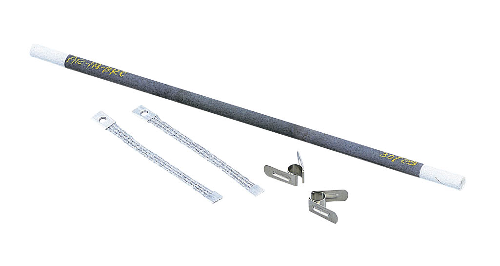 シリコニット シリコニット発熱体(棒型・クランプ式) A20-1B