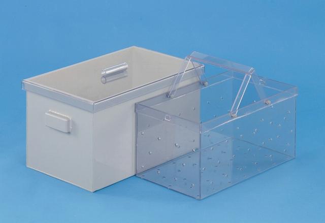 角型硫酸槽 セット (硫酸槽+バスケット)