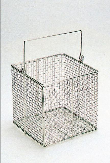 ステンレス角型洗浄カゴ 大  300×300×300Hmm