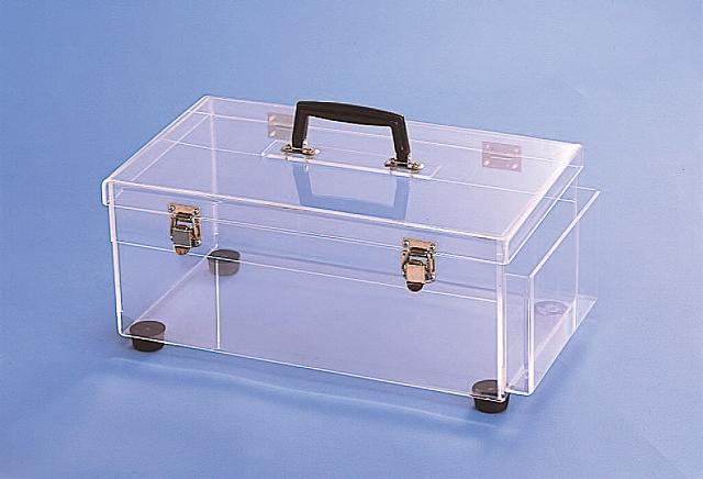 キャリーボックス(静電防止 塩ビ透明) 2型