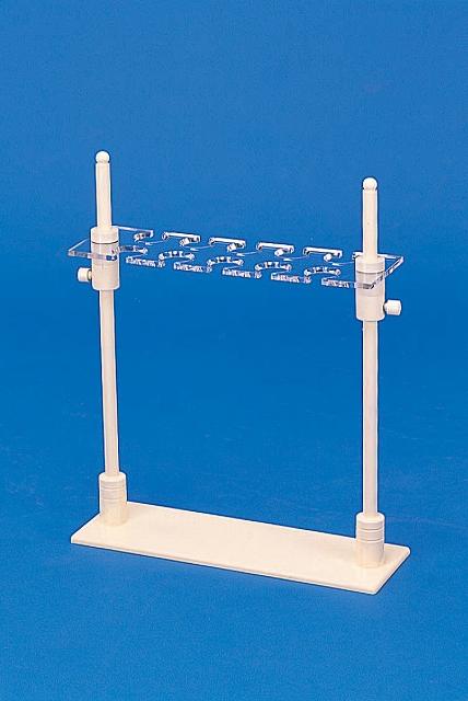 分液ロート台 横型・上下スライド式 PVC製  1000mL 3個用