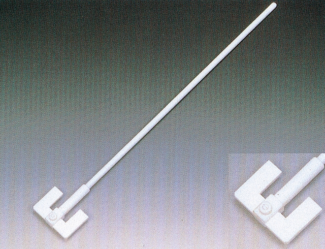 PTFEW型撹拌棒(固定式羽根付)  450mm×8Φ
