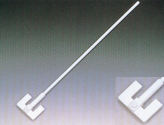 PTFEW型撹拌棒(固定式羽根付)  500mm×8Φ
