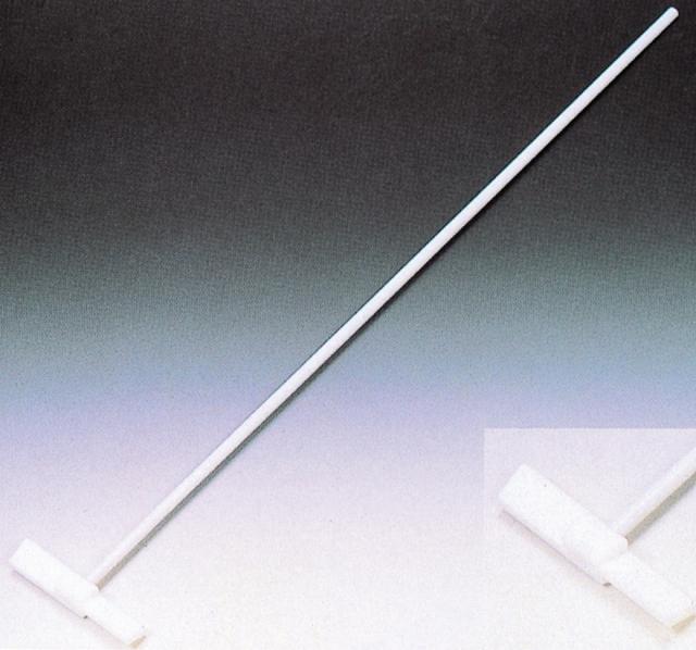PTFE被覆撹拌棒大型 T-10-120型 羽根巾20×長サ120mm