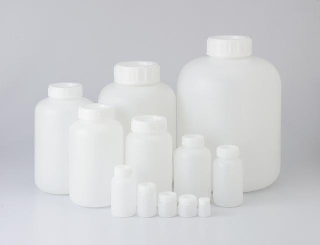 PE広口瓶 白 50ml N型 (600本入)