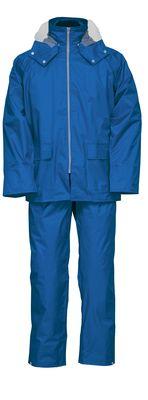 雨衣 ナダレス 9150 ブル- 4L