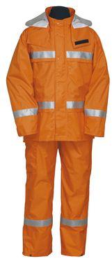 雨衣 ナダレスリフレクテイブス-ツ 4000 オレンジ EL
