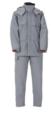 雨衣 ナダレスエコス-ツ 4350 グレ- 4L